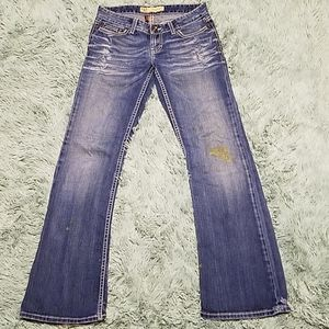 💎2for15 women's bke jeans size 27 madison